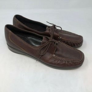 SAS hand crafted comfort moccasins shoes sz 10.5